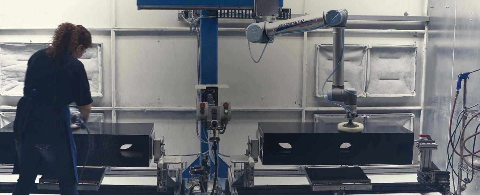 robot de pulido automatico