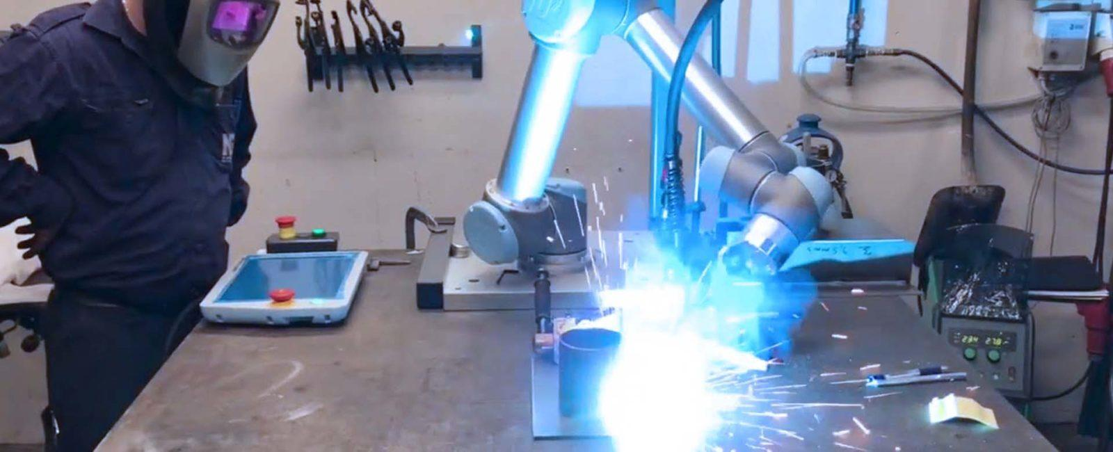 robot soldador colaborativo