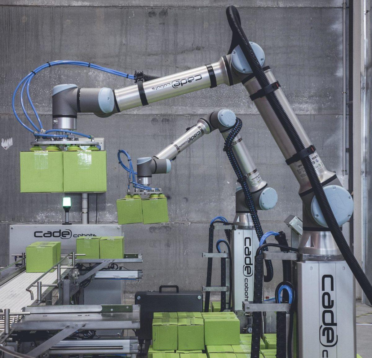 Cobots robots con inteligencia artificial para aplicaciones industriales