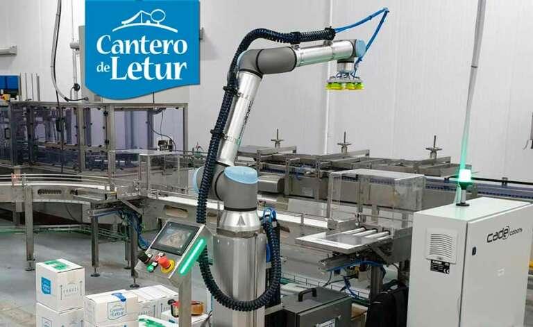 El Cantero de Letur: pioneros por tradición en la industria alimentaria (integración de cobots)