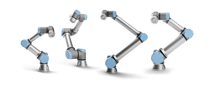 Robots colaborativos UR