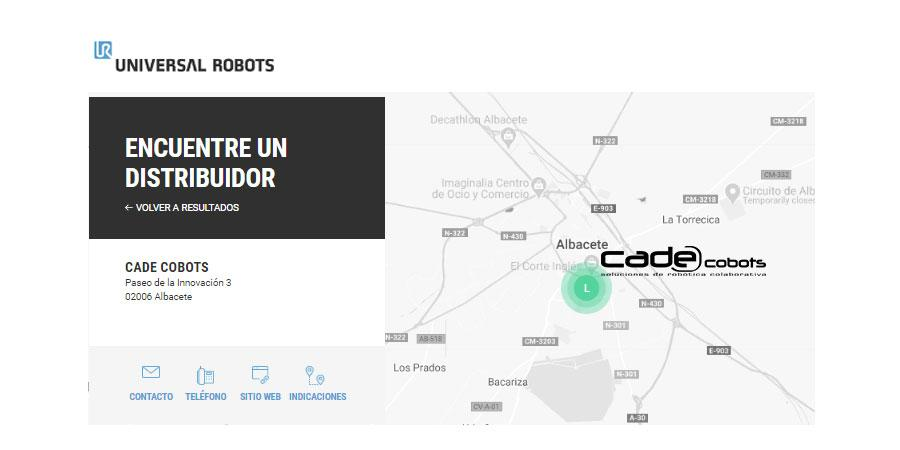 CADE COBOTS, CERTIFIED SYSTEM INTEGRATOR DE UNIVERSAL ROBOTS