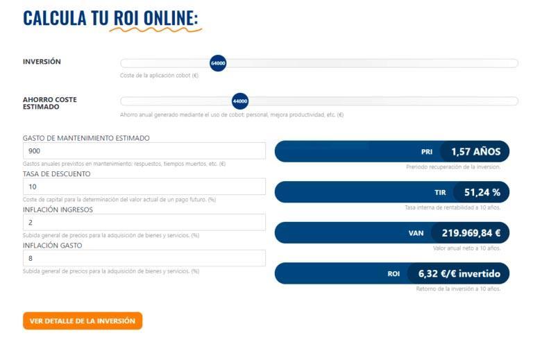 caluladora online para inversiones en robots colaborativos 768x493 1