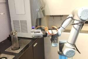 robot colaborativo y el cafe