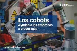 Los robots colaborativos ayudan a las empresas a vender mas